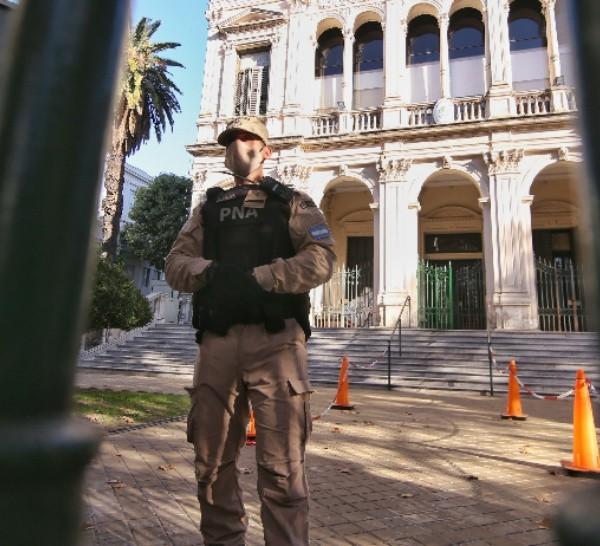 El operativo fue por pedido del juzgado federal Nº 3 de Rosario a cargo de Carlos Vera Barros.