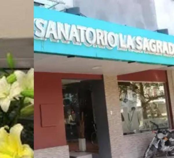 Por el momento, el sanatorio dijo que están al tanto de la situación pero que no darán declaraciones.