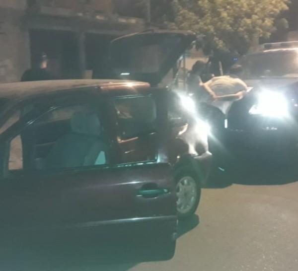 El hombre detenido por la Policía anoche en Seguí y Felipe Moré.