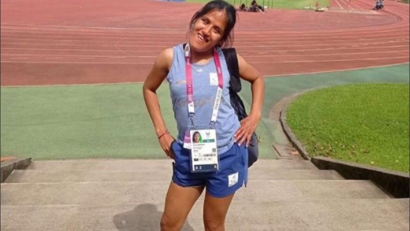 La rosarina Yanina Martínez quedó cuarta en los 100 metros Paralímpicos