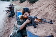 Donne soldato curde5