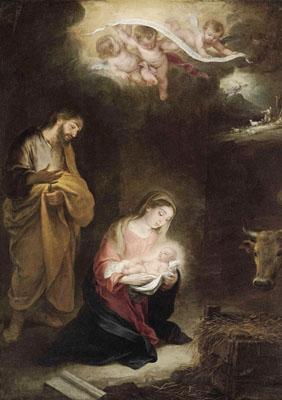 El nacimiento del Hijo de Dios