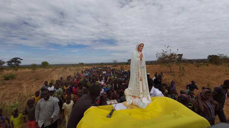 Virgen de Fátima en Tanzania