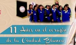 11 años sirviendo a la Iglesia de Arequipa
