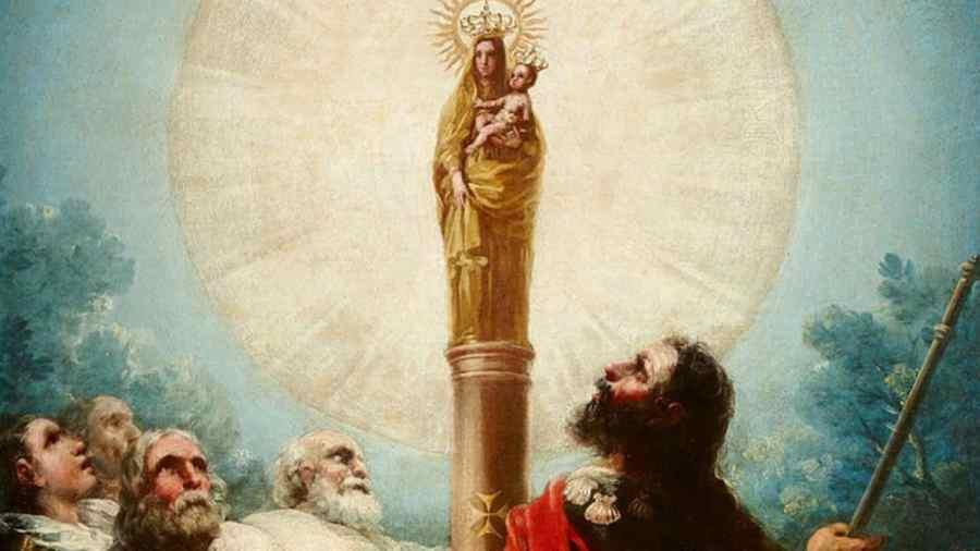 Aparición de la Virgen a Santiago Apóstol