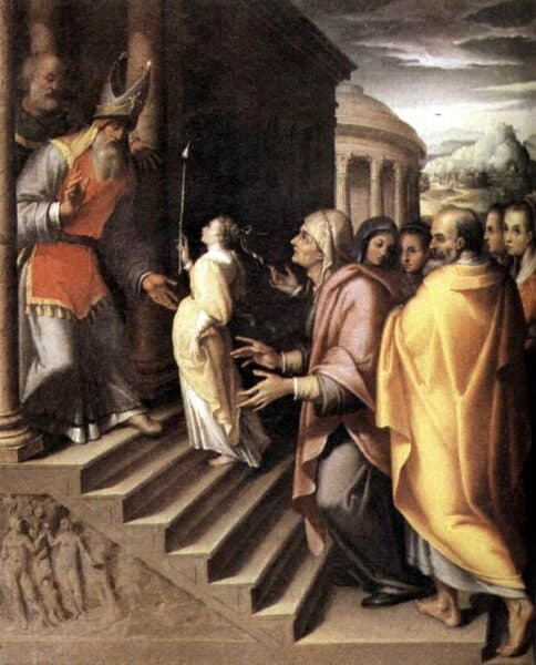 Presentación de la Virgen
