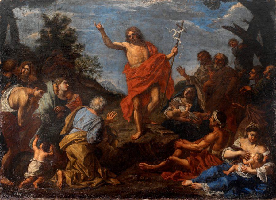 Predicación de Juan Bautista