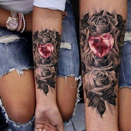 Tatuajes De Rosas 35 Diseños Diferentes Significado Y Simbolismo
