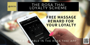 Rosa Thai Therapy Loyalty Scheme