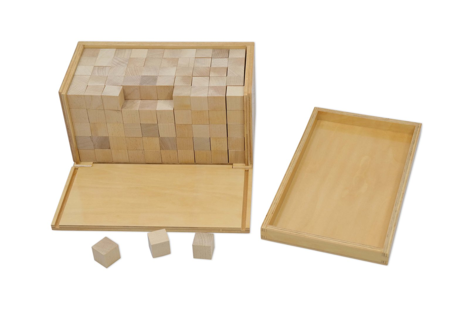 Volume Box With 250 Cubes 2x2x2 Cm