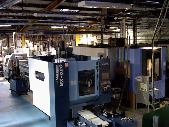 Lights out manufacturing
