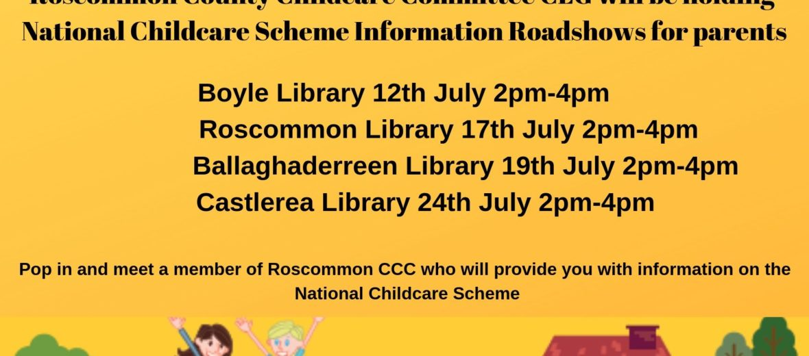 National Childcare Scheme Information Road shows for