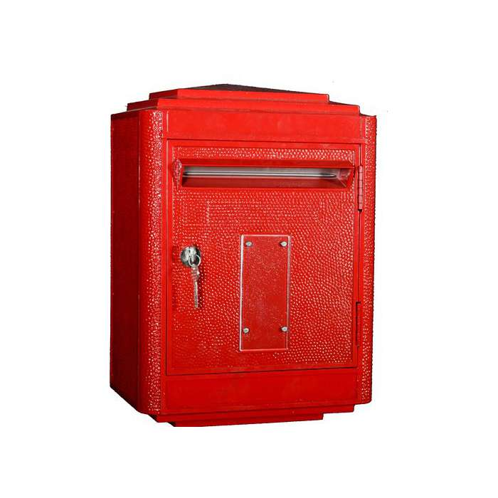 Boite Aux Lettres La Poste Jaune Large ROSE BUNKER