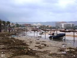 [:nl]Mini tornado's aan de Costa Blanca zorgen voor veel materiële schade[:]