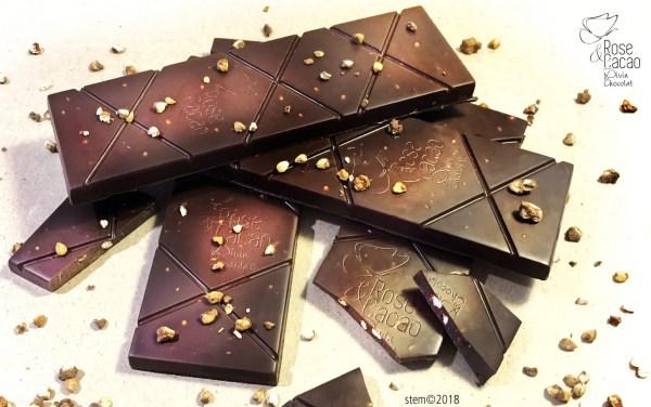 tablette chocolat cru Terre d'Orient