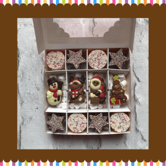 snowies & jazzies christmas selection box