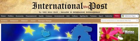 Международные веб пост