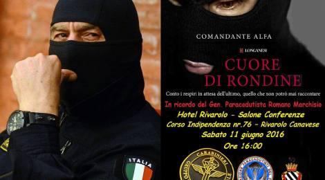 """ROSEA - G.I.S. COMANDANTE ALFA - PRESENTAZIONE LIBRO """"CUORE DI RONDINE"""" - ROSALBA SELLA"""