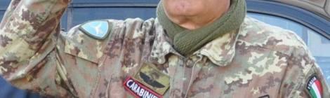 ROSEA - Giorgio Vinardi Sergeant of the Carabinieri Paratroopers  - ROSALBA SADDLE