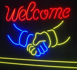 welcome welcome hands