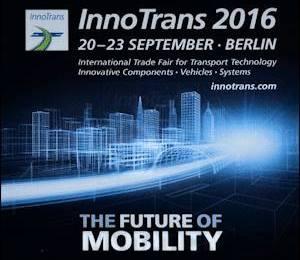 ROSEA - 20/23 - 09 - 2016 InnoTrans BERLIN - THE FUTURE OF MOBILITY - ROSALBA SELLA