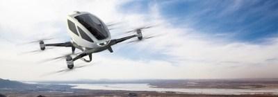MARIANA - EHANG184, world's first Autonomous Aerial Vehicle - ROSALBA ŞA