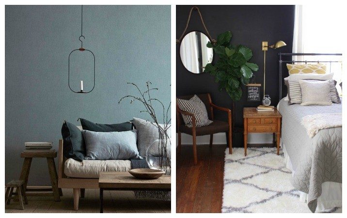 How To Style Dark Walls In Your Home Rose And Grey