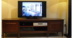 Media Unit Wood NZ Rose and Heather