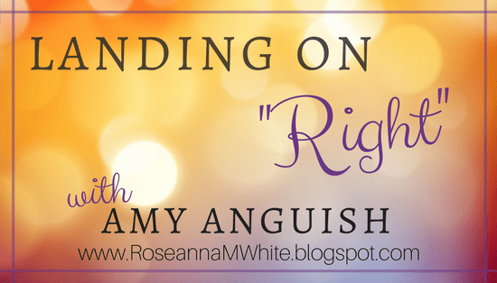 "Landing on ""Right"" with Amy Anguish"