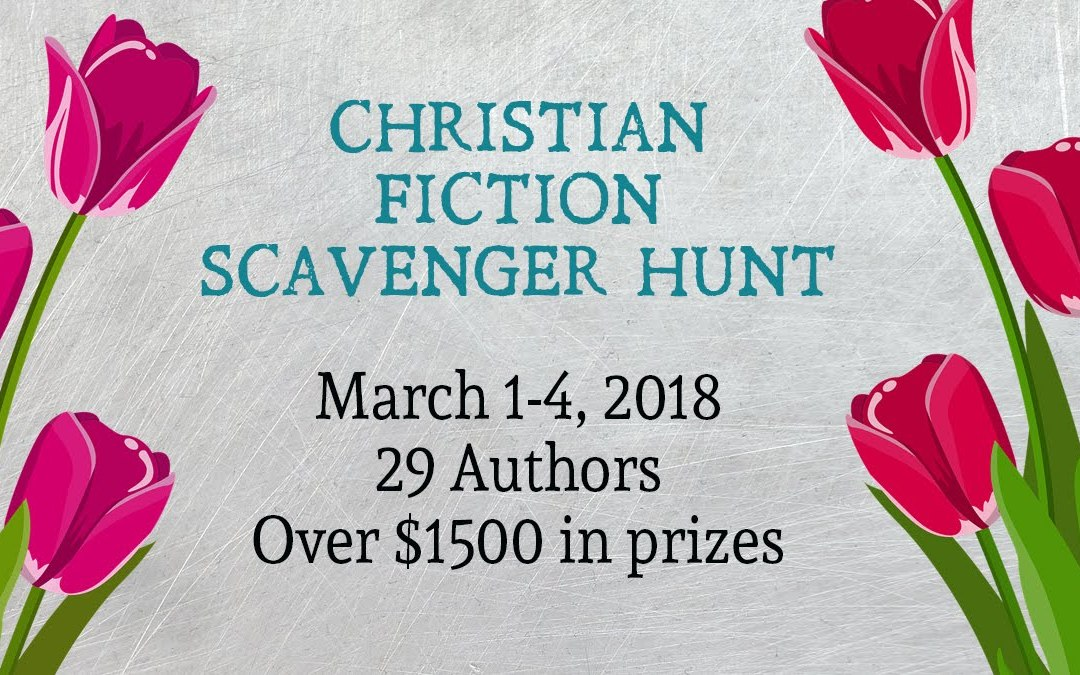 Christian Fiction Scavenger Hunt Stop #4