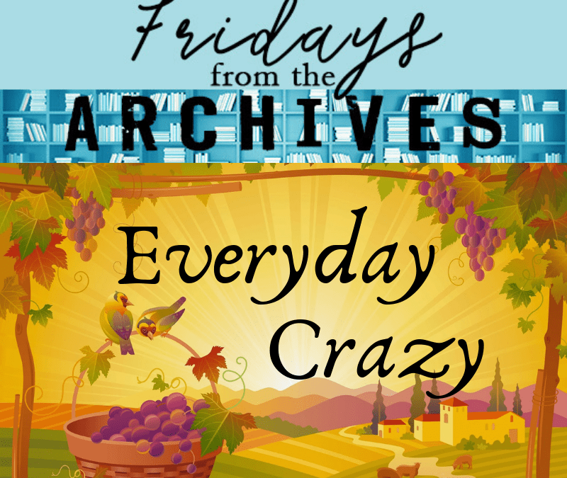 Friday from the Archives – Everyday Crazy