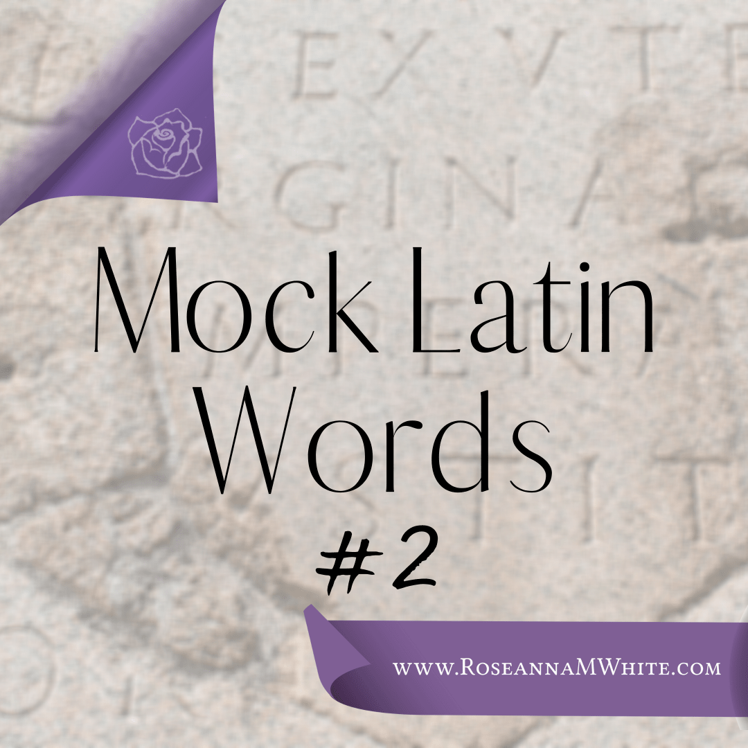 Mock Latin Words 2
