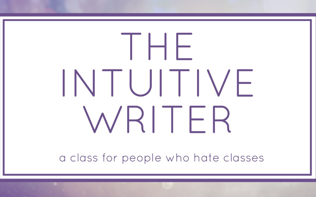 The Intuitive Writer (Workshop)