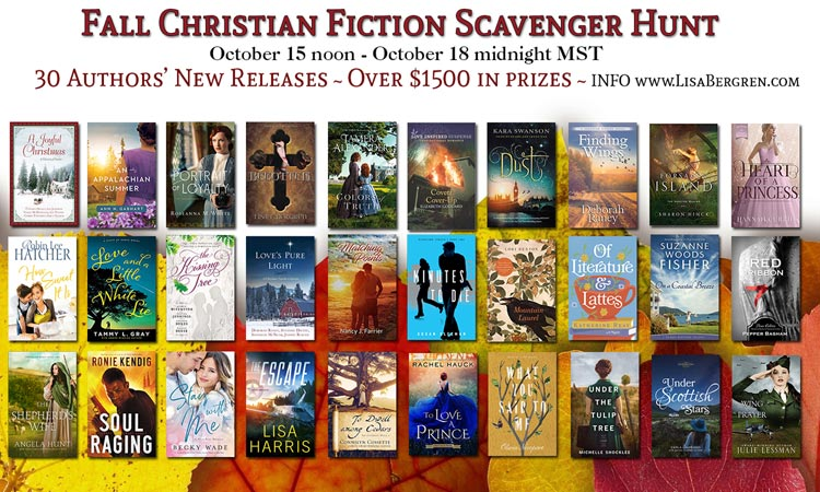 Christian Fiction Scavenger Hunt – Stop #8