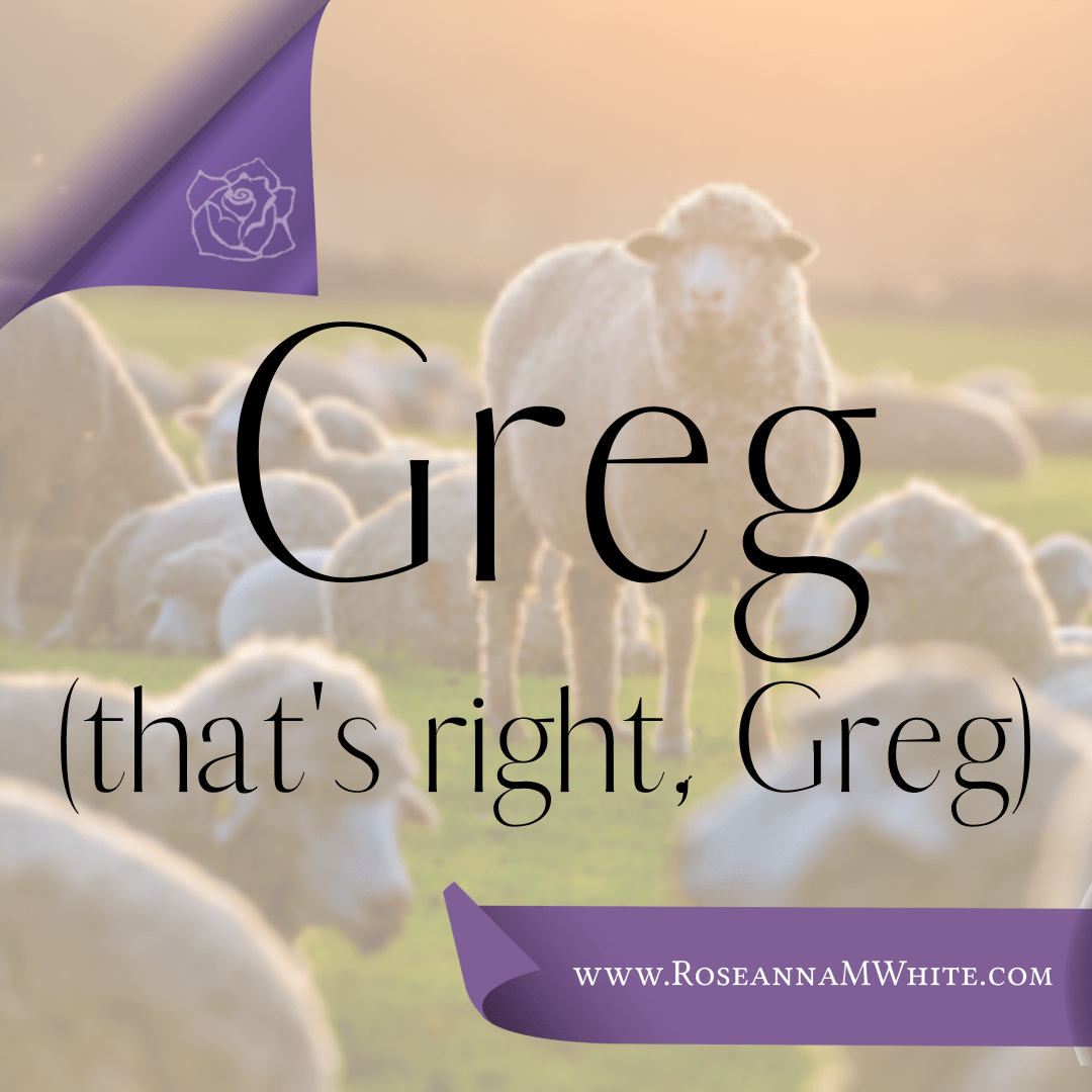 Word of the Week – Greg (That's Right, Greg)