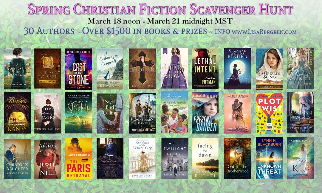 Christian Fiction Scavenger Hunt Stop #10