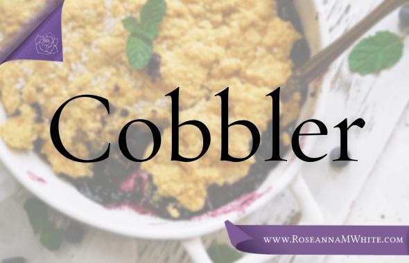 Word of the Week – Cobbler