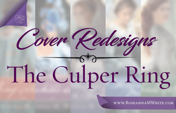 Cover Redesigns ~ The Culper Ring!