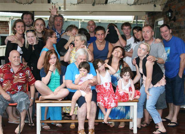 Crazy family photo