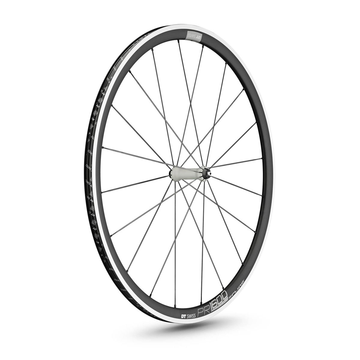 Buy DT Swiss PR 1600 Spline 32 road front wheel 28