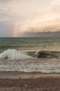 Rainbow Over Lake Michigan   http://www.roseclearfield.com