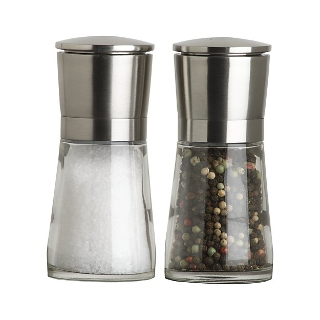 My 7 Favorite Staple Crate and Barrel Kitchen Items - Bavaria Salt and Pepper Mills | http://www.roseclearfield.com