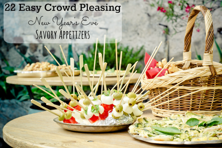 Last-Minute New Year's Eve Party Ideas - 22 Savory Appetizers | http://www.roseclearfield.com