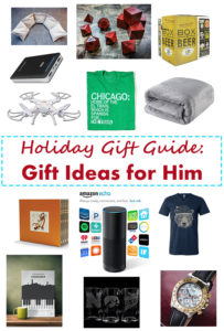 Holiday Gift Guide: Gift Ideas for Him | https://www.roseclearfield.com