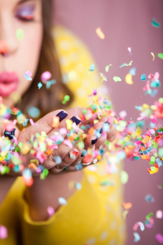 How to Take the Perfect Confetti Photo bestfriendsforfrosting.com