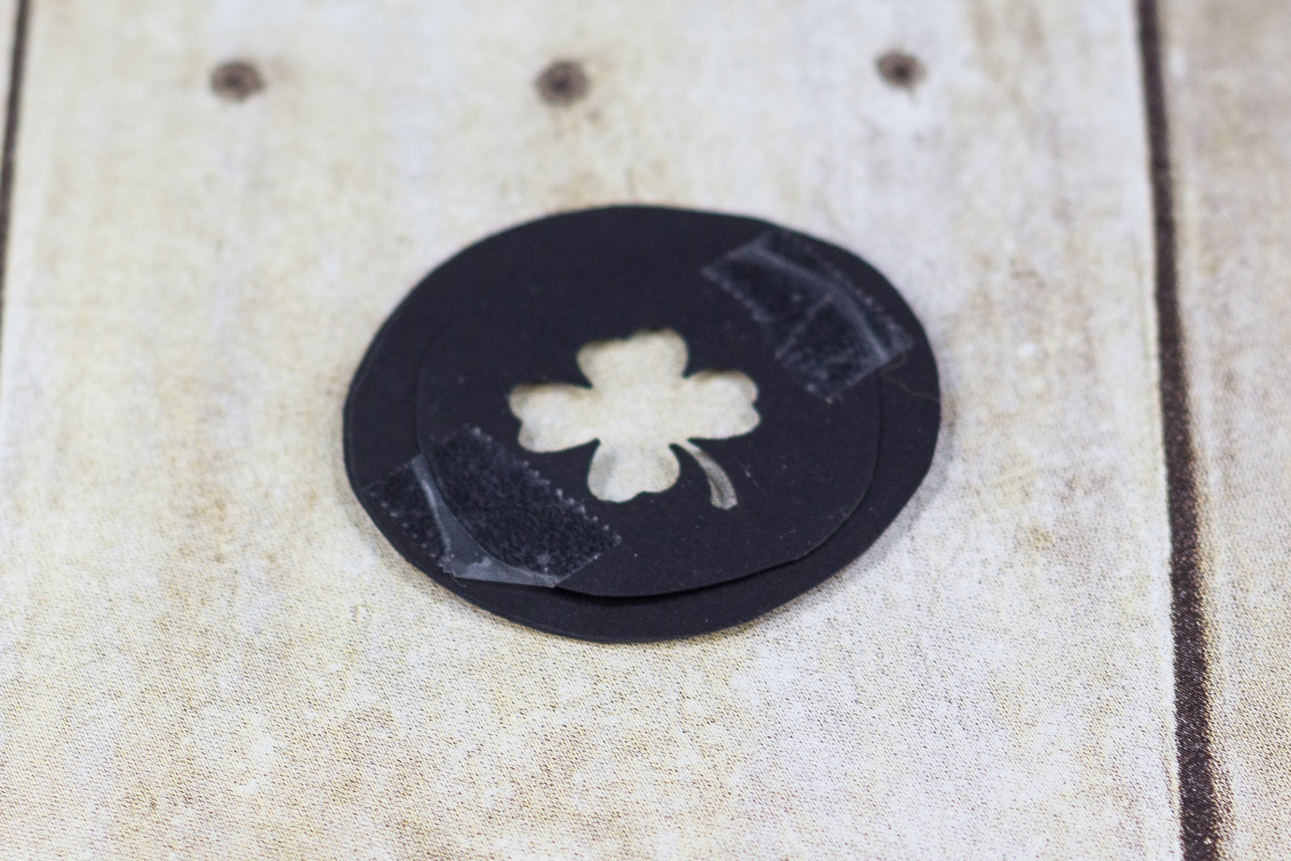 DIY Shamrock Shaped Bokeh Filter | https://www.roseclearfield.com