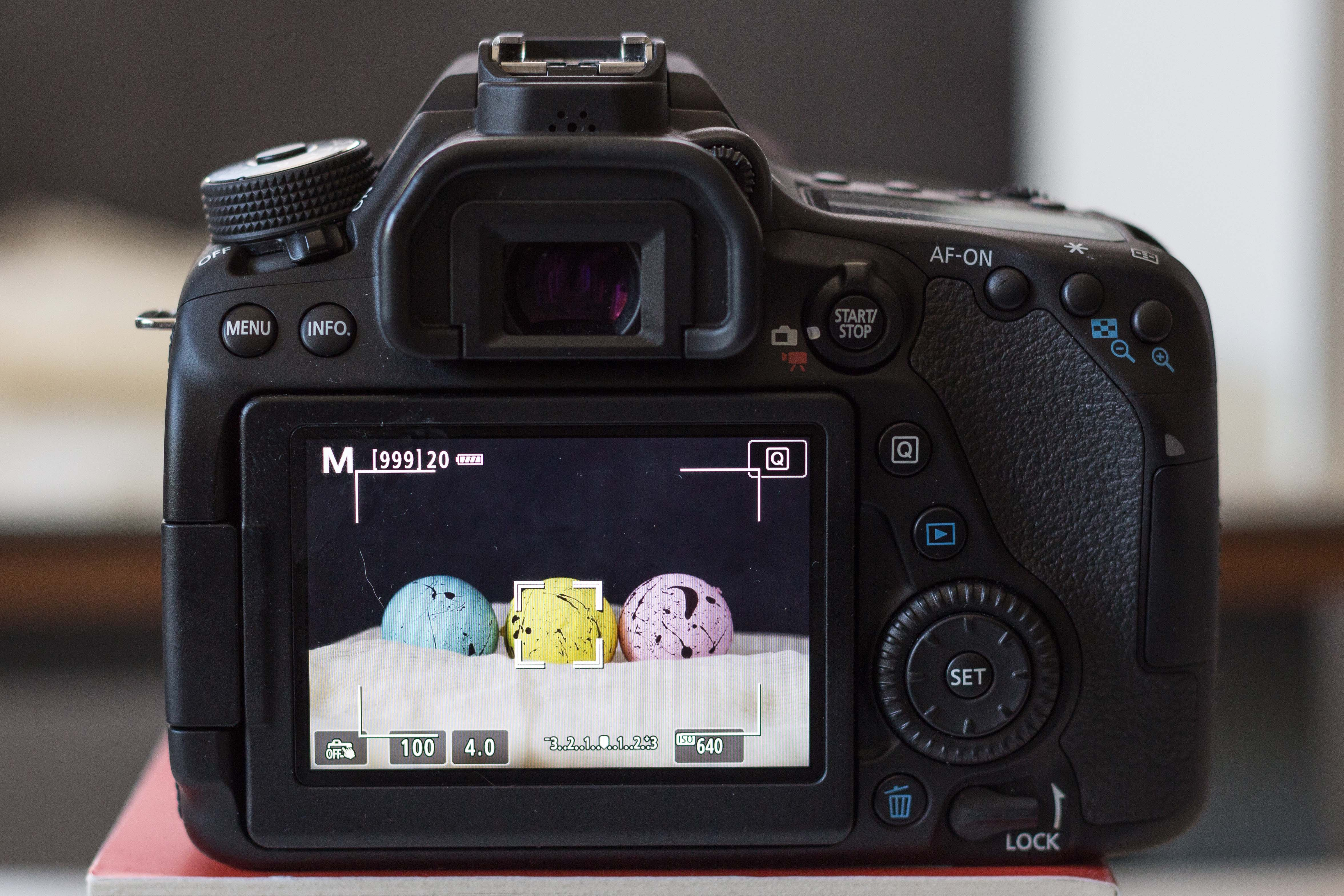 Canon 80D Live Screen Mode | http://www.roseclearfield.com