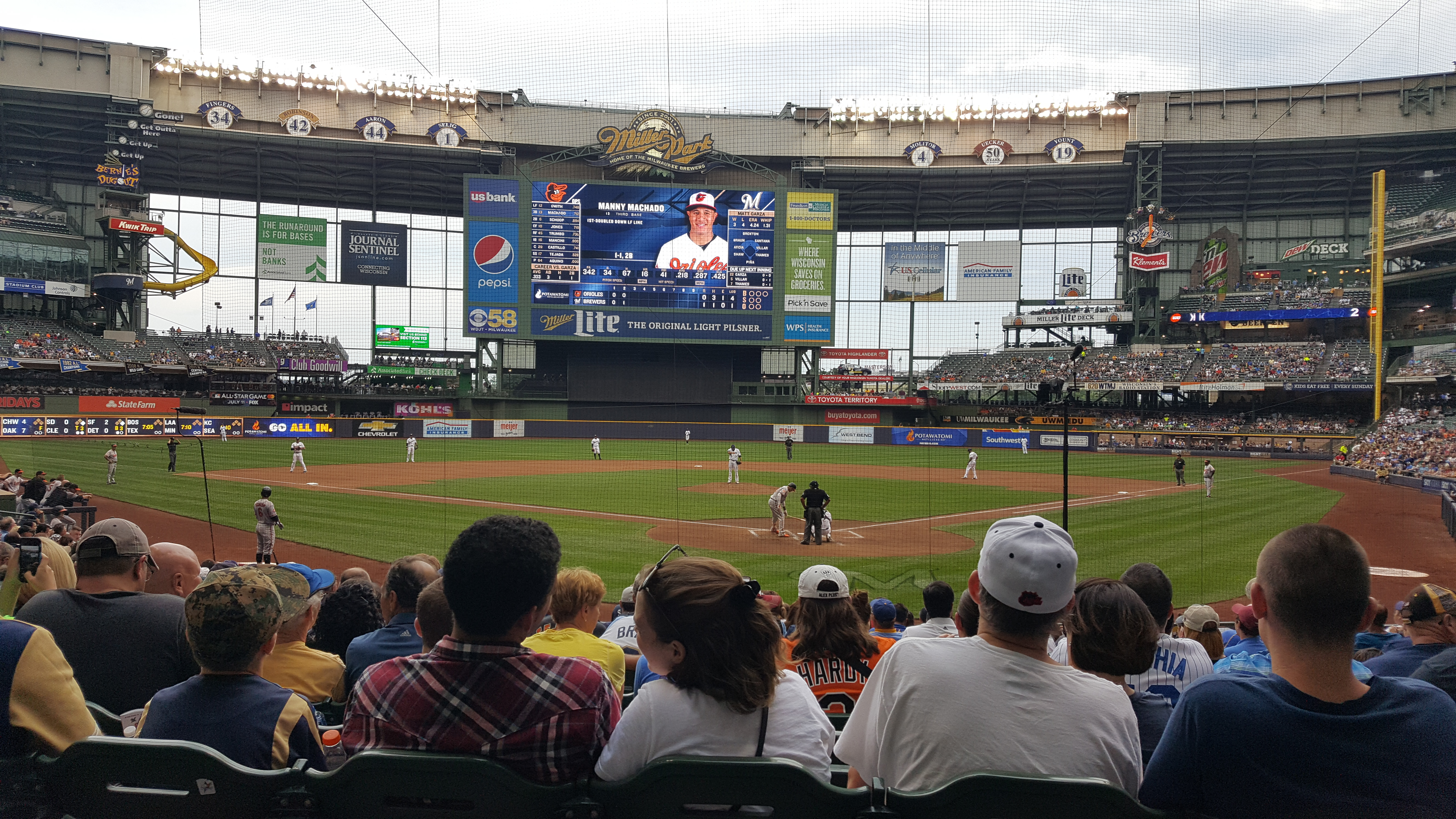 Brewers Game 7.5.17 | http://www.roseclearfield.com