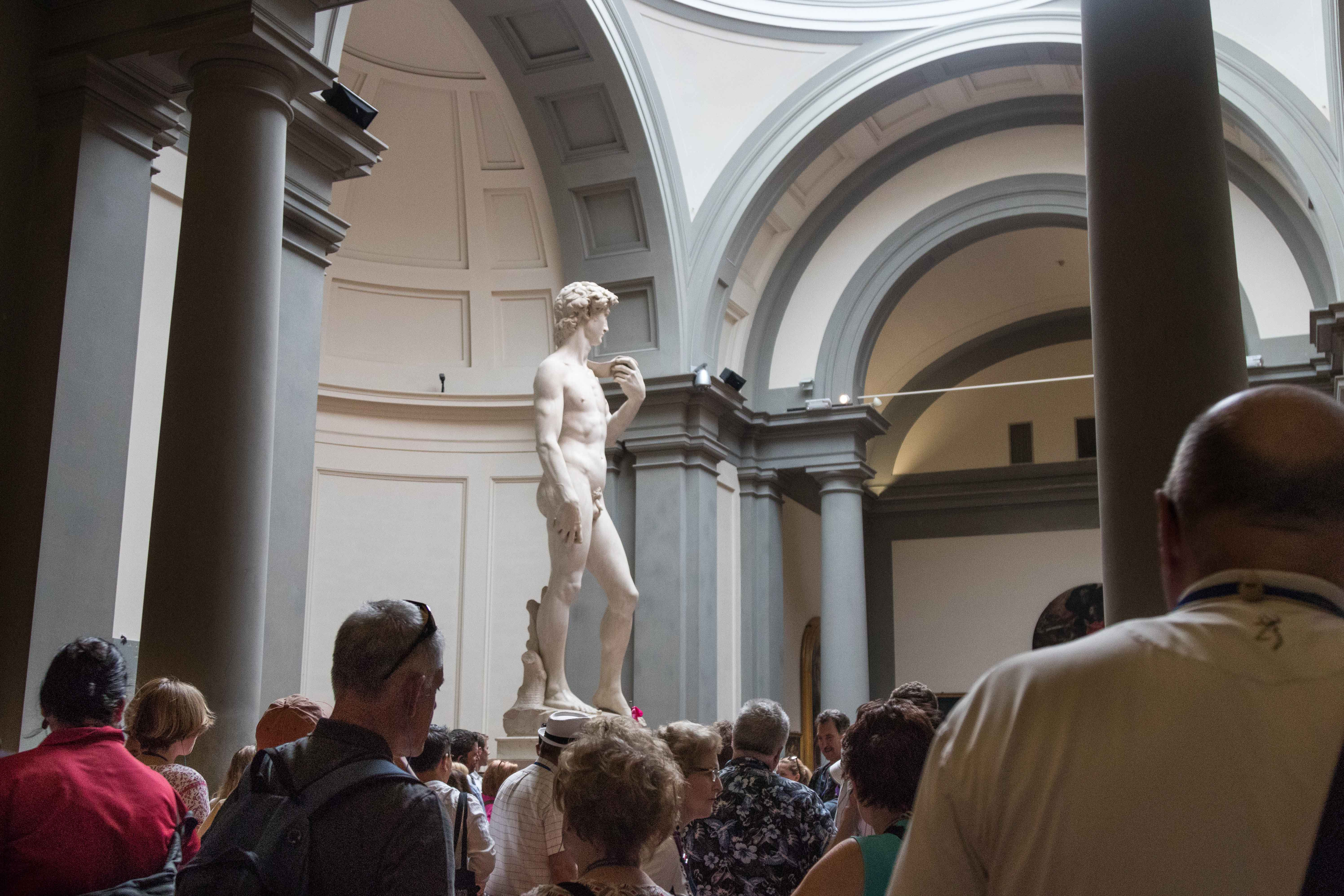 Mediterranean Cruise: Florence - Accademia Gallery | https://www.roseclearfield.com
