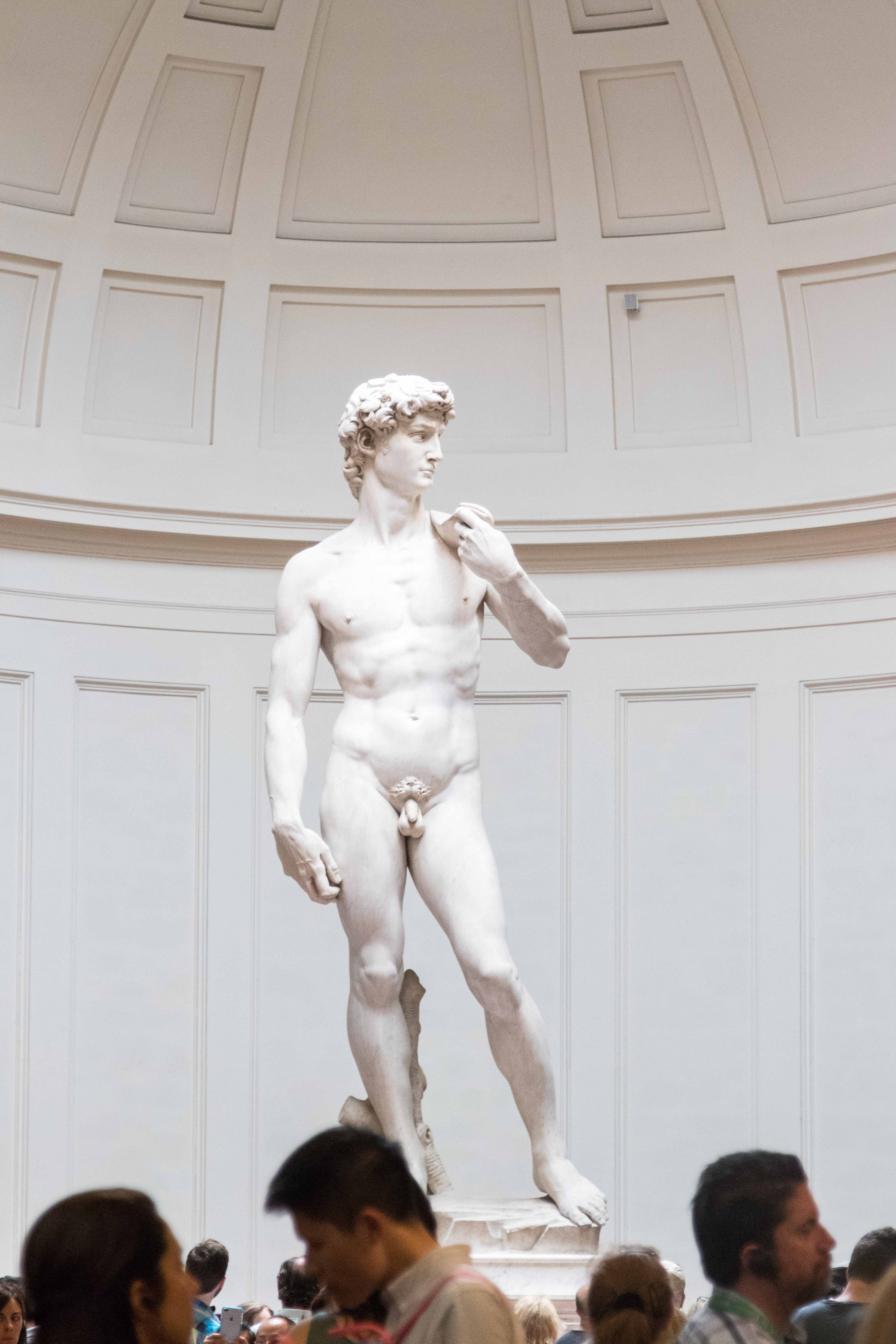 Mediterranean Cruise: Florence - Accademia Gallery | http://www.roseclearfield.com